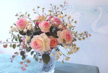 深雪アートフラワー70周年深雪アートフラワー展 花とともに~薔薇色の四季~の画像