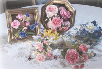 深雪アートフラワー展  花とともに ~春色 花模様~の画像