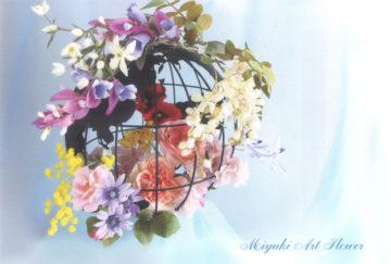深雪アートフラワー展 花とともに~世界花の旅~の画像