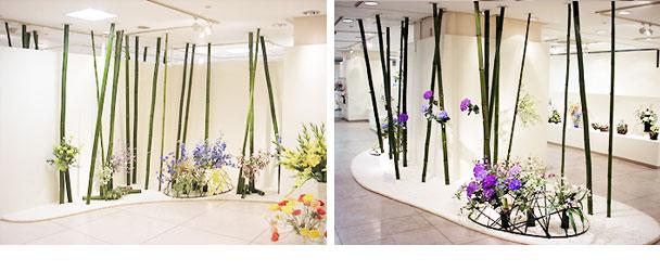 千葉なの花会創立15周年記念 深雪アートフラワー展