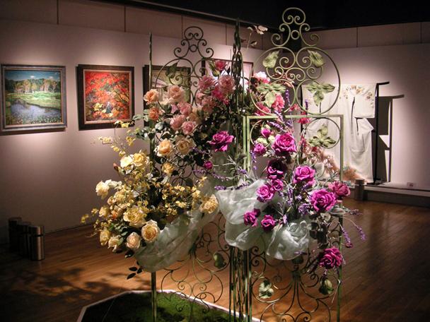 おしゃれ工房作家ファンタジー 魅惑の花展