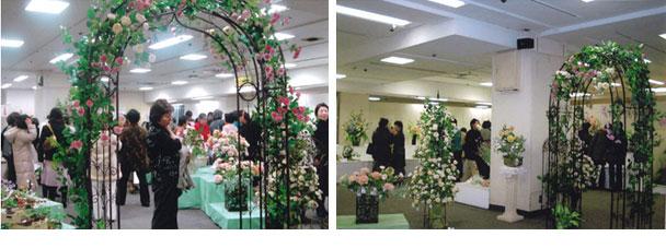 第25回埼玉ローザカリーナ会 深雪アートフラワー展