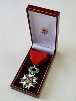 レジオン・ドヌール勲章シュヴァリエ
