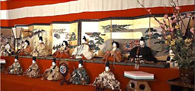 尾帳徳川家の雛祭り