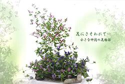 長野りんどうの会 15周年記念深雪アートフラワー展
