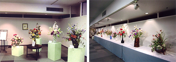 長野りんどうの会 15周年記念 深雪アートフラワー展