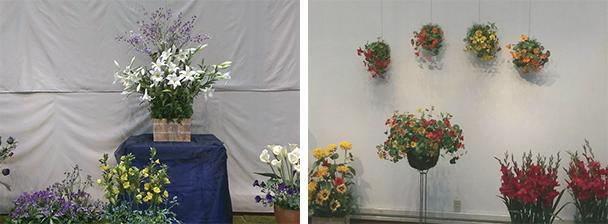 20周年 神奈川ゆりの会 深雪アートフラワー展