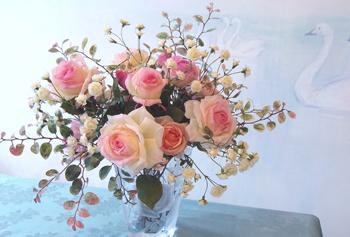 深雪アートフラワー70周年深雪アートフラワー展 花とともに~薔薇色の四季~