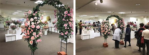 深雪アートフラワー展 花とともに~薔薇色の四季~
