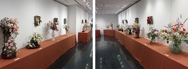 深雪アートフラワー 徳島あいの会 第11回作品展